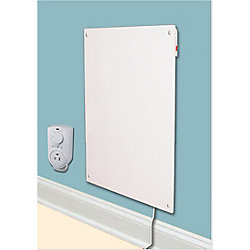 Amaze-Heater 600w with Plug-in Thermostat Electric Panel Room Heater