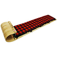 Frontier 6 Feet Toboggan with plaid pad
