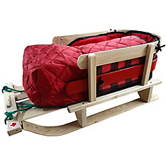 Frontier Sleigh with bootie pad