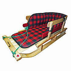 Frontier XL Sleigh - plaid pad