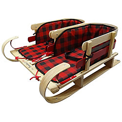 Streamridge Grizzly Dual Sleigh with glowing plaid pads