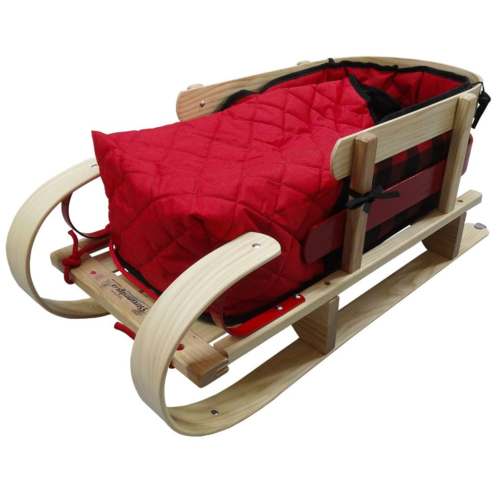 Streamridge Grizzly Kinder Sleigh with Bootie Pad