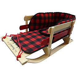 Streamridge Grizzly XL Sleigh with glowing plaid pad