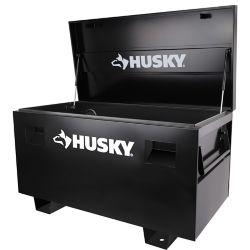 HUSKY Coffre de chantier, 48 po, noir