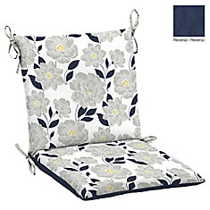 Outdoor Dining Chair Cushion in Floral