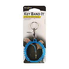 Key Band-It Stretch Wristband - Blue