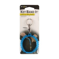 Nite Ize Bracelet extensible Key Band-It - Bleu
