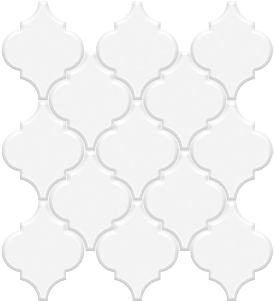 Enigma Metro Loft White Porcelain Arabesque