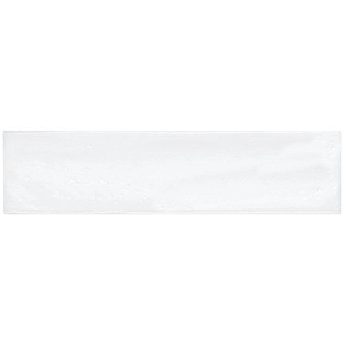 3-inch x 12-inch Artisan White Gloss Wall Tile