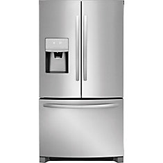27 Cu. ft French Door Refrigerator in Stainless Steel
