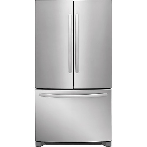 27 cu. ft. French Door Refrigerator in Stainless Steel