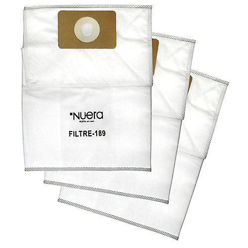 High Efficiency Central Vacuum Filter Bag (3-Pack)