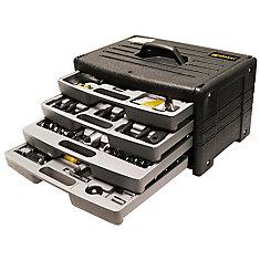Worker 4-Jeu doutils avec kit doutils de 105 PC