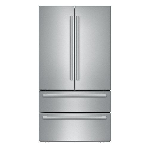 800 Series - 36 inch 20.7 cu.ft. Counter-Depth 4-Door French Door