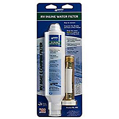 RV, Boat and Camping Inline Water Filter