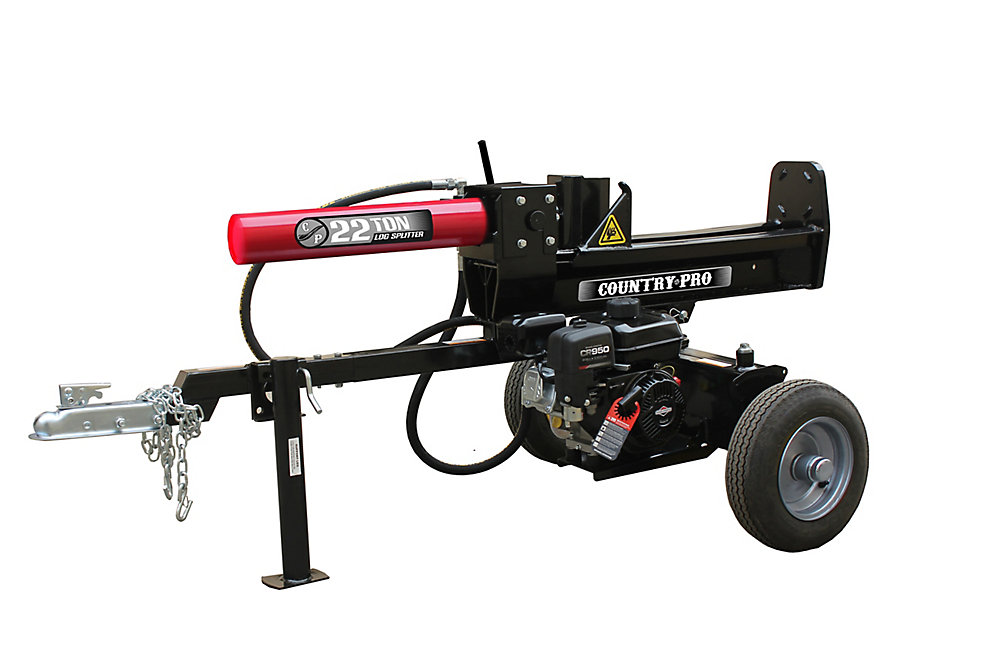 COUNTRY PRO 22 Ton Log Splitter with 208cc Briggs and Stratton