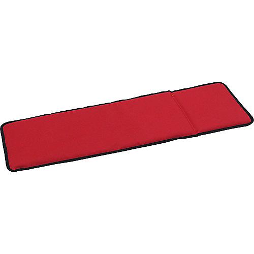 Coussinet rouge Snowflake (flocon de neige) pour traîneau coupeur
