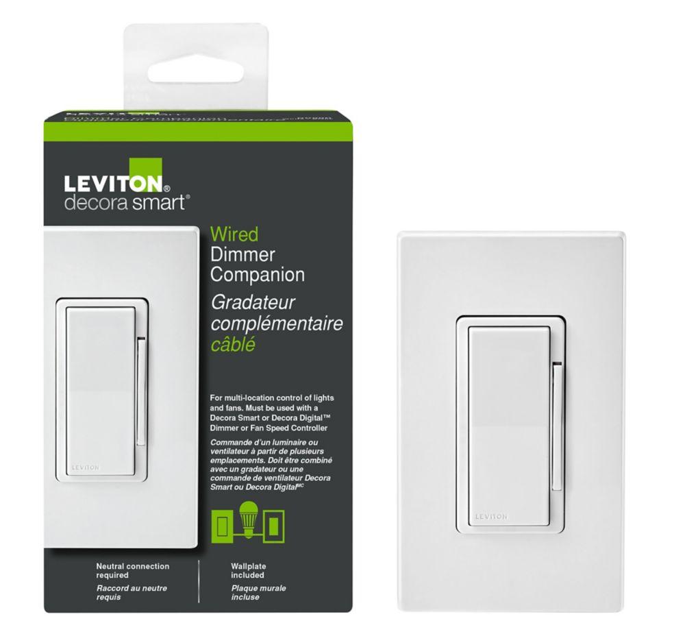 Leviton - Decora 120VAC 60 Hz Decora Digital/Decora Smart Matching Dimmer Remote, White