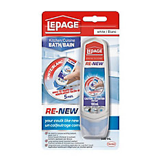 Re-NEW Silicone Caulk Sealant 100mL