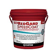 Red Gard SpeedCoat 1 Gal. Waterproofing Membrane