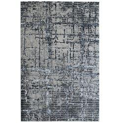 Lanart Rug Viscotti Black 8 ft. X 10 ft.  Indoor Area Rug