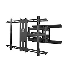 PDX650 Full Motion Mount for 37-inch to 75-inch TVs, Black
