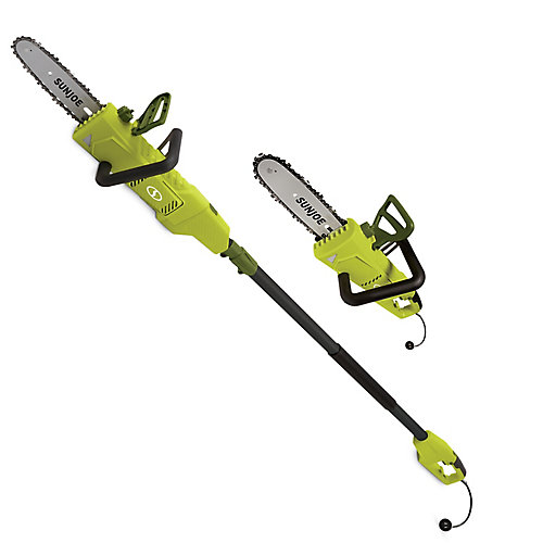 8-inch 6 amp 2-in-1 Convertible Electric Telescoping Pole Chain Saw