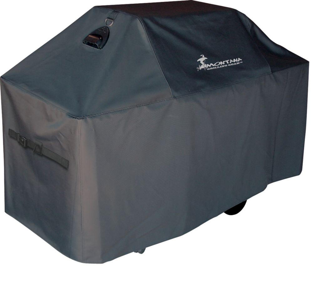 Montana Grilling Gear Premium Innerflow Series Ventilated BBQ Grill Cover - 80 Inch