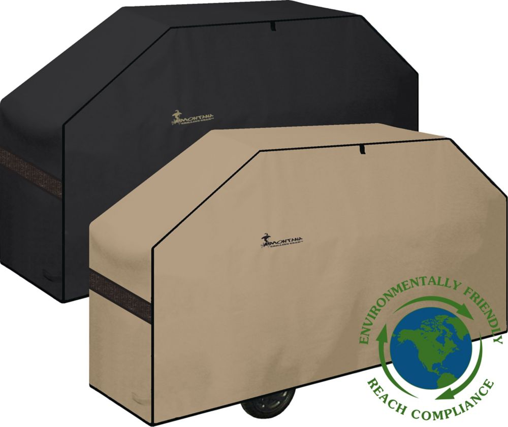 Montana Grilling Gear Environmentally Friendly Series Reversible BBQ Grill Cover - 74 Inch