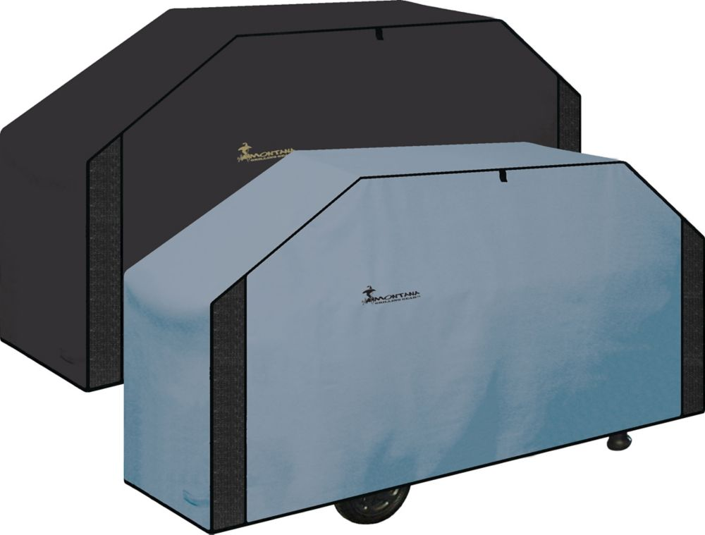 Montana Grilling Gear Ventilated , Reversible BBQ Grill Coverr - 68 Inch