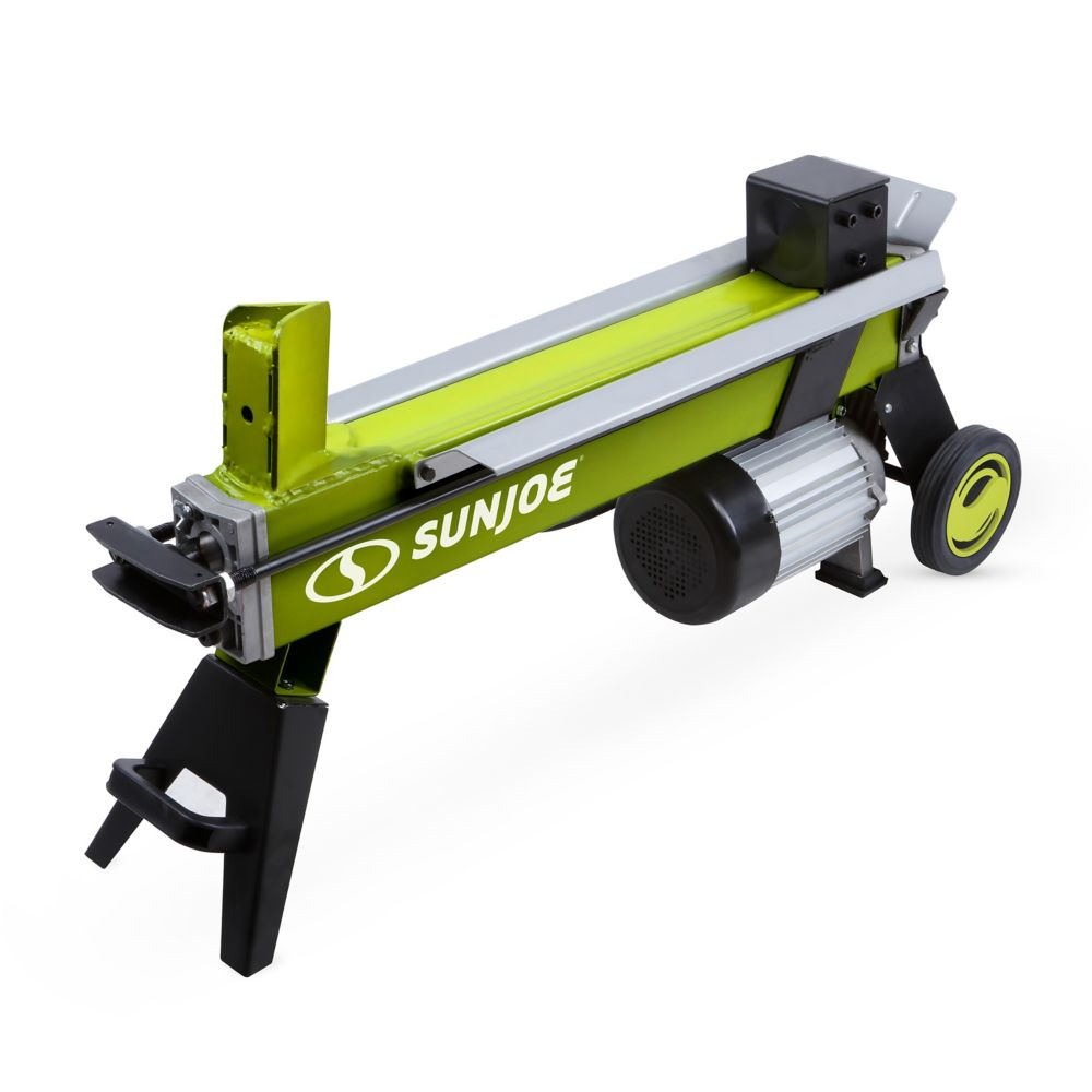 15 amp 5-Ton Electric Log Splitter with Hydraulic Ram