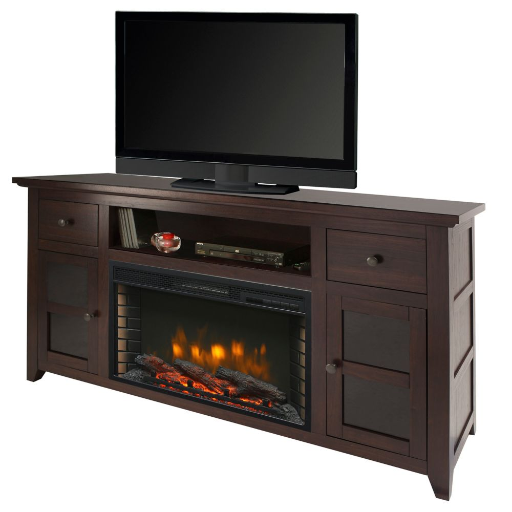 btu electric control mantel media wall in white led and flame pd shop with w wood mount remote fireplace thermostat real