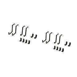 NewAge Products Inc. Trousse daccessoires VersaRac de 20pièces (crochets en S, crochets en J)