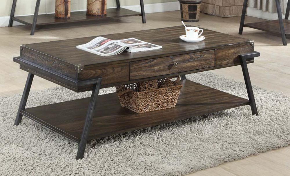 Magnum Coffee Table, Dark Walnut