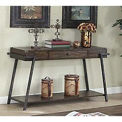 Brassex Inc. Magnum Sofa Table, Dark Walnut