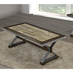 Brassex Inc. Table basse Venetian, noyer