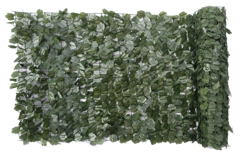 Naturae Décor 40-inch x 96-inch Decorative Ivy Leaf Rolls