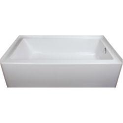Mirolin Austin 16 Skirted Bathtub Right Hand in White