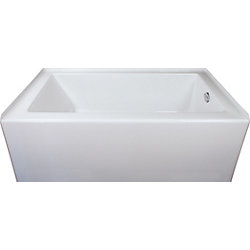 Mirolin Adora Acrylic Skirted Bath Right Hand in White