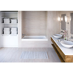 Mirolin White Aura Alcove Bath Left Hand