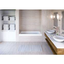 Mirolin White Aura Alcove Bath Left Hand