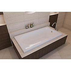 White Bliss 2 Inch Drop In Bath