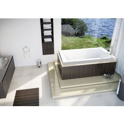 Mirolin White Mella 4 Inch Drop In Bath