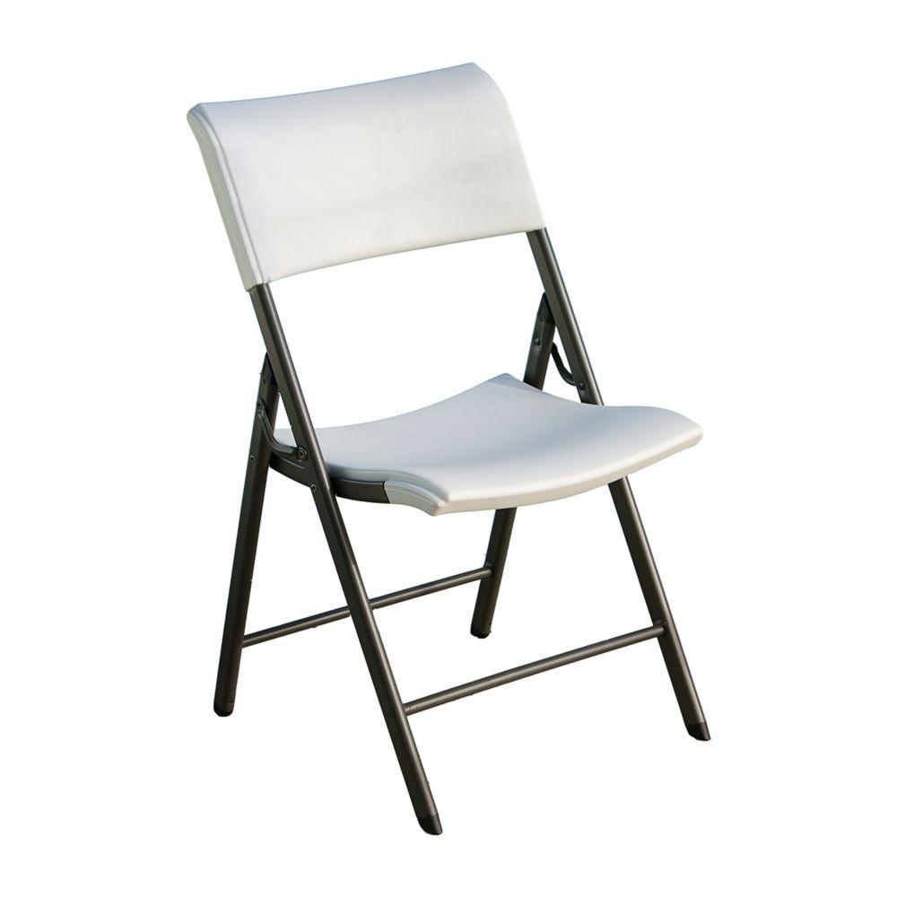 Lifetime White Folding Chair (Set of 4)