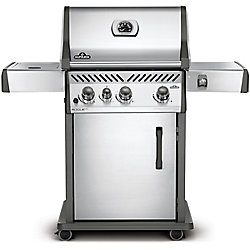 Napoleon Rogue SE 425 Natural Gas BBQ with Range Side Burner in Stainless Steel