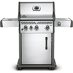 Rogue SE 425 Natural Gas BBQ with Range Side Burner in Stainless Steel