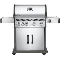 Napoleon Rogue SE 525 Natural Gas BBQ with Infrared Side Burner in Stainless Steel