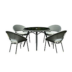 Table de jardin Margie, 40 po
