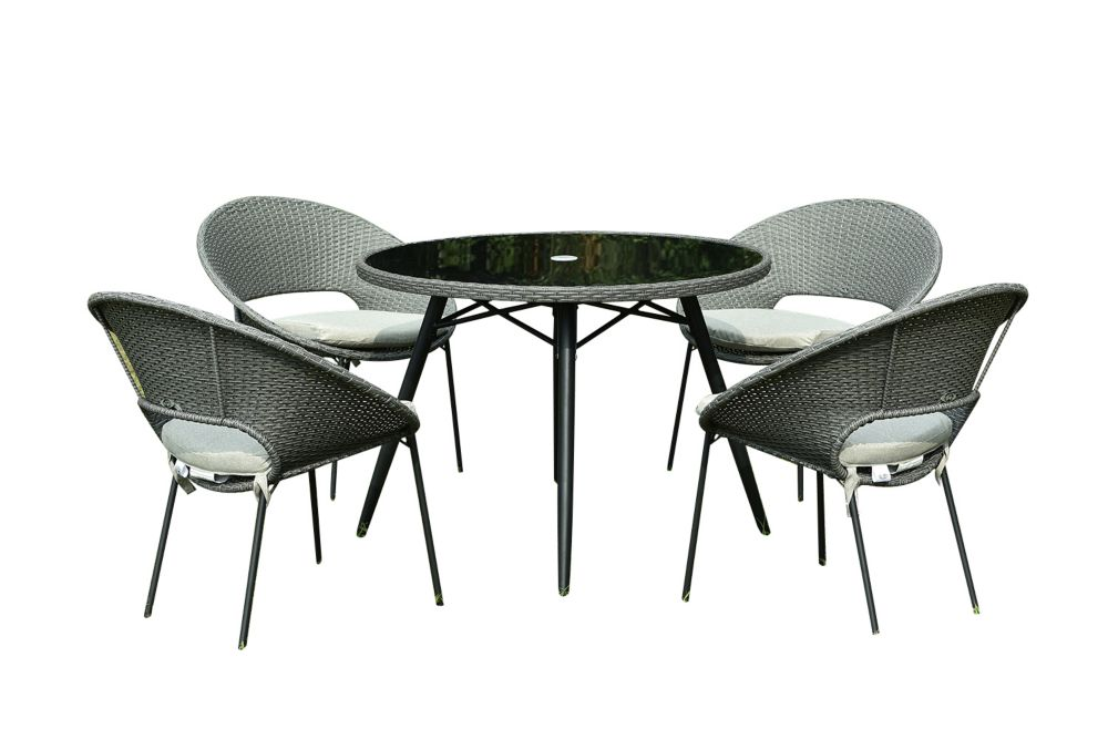 Hampton Bay Margie 40-inch Patio Dining Table