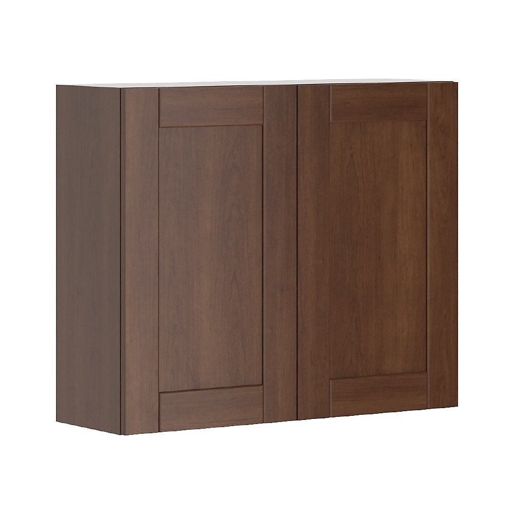 Eurostyle Lyon - Assembled 36 inch x30 inch Wall cabinet ...